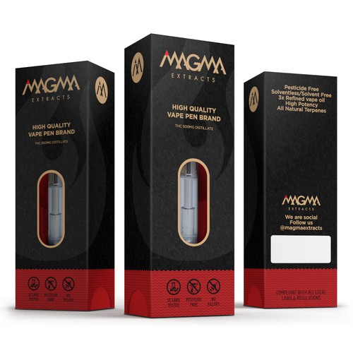 Packaging Design for Vape Pen