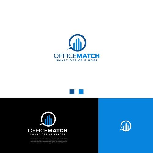 Minimal Logo Concept for OfficeMatch
