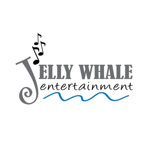 Create the next logo for Jelly Whale Entertainment