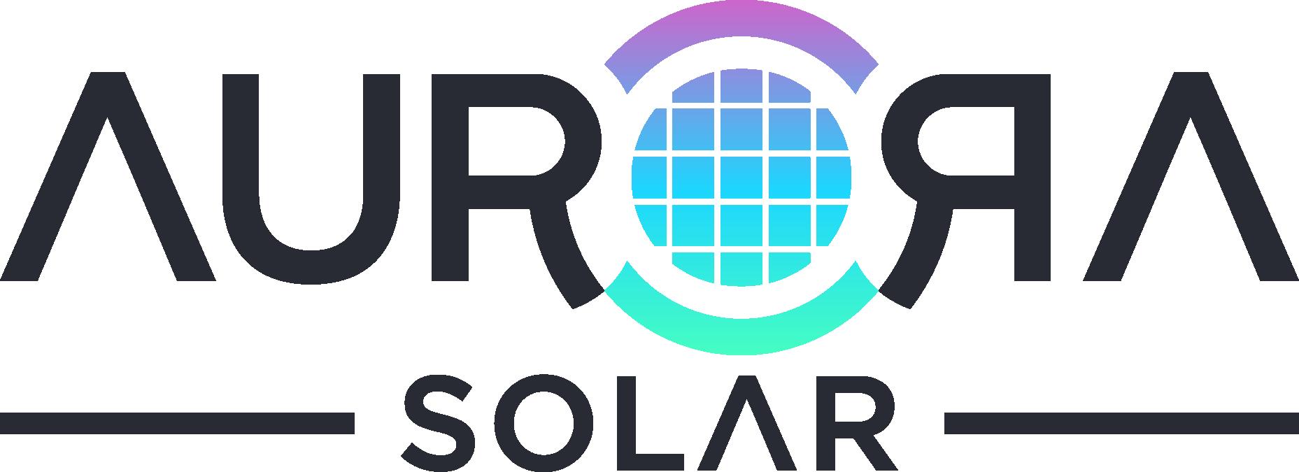 Catchy solar logo