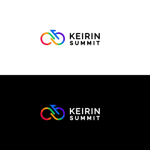 Catchy Logo Concept For Keirin Summit