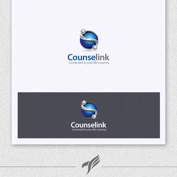 Help Counselink with a new logo and business card
