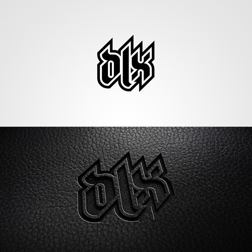 Tattoo-like logo for a safety work-boots brand