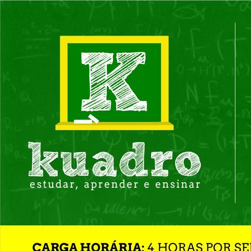 Conceito de anúncio para empresa Kuadro