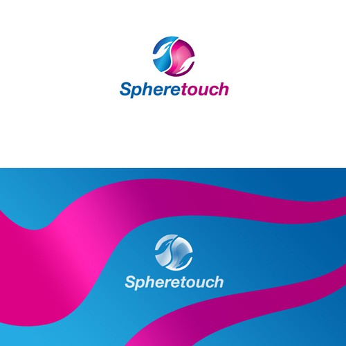logo and business card for Spheretouch