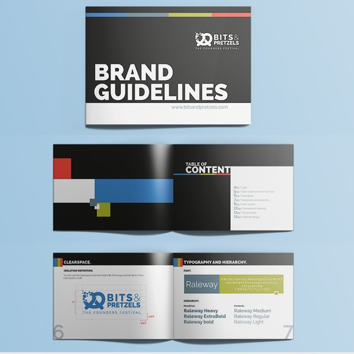 New Visual Guideline (Corporate Design) for Bits & Pretzels