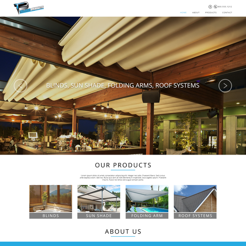 Web Design for Tailored Products