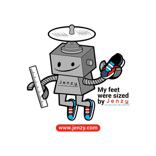 Shoes Sized Robo