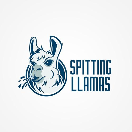 Logo for SPITTING LLAMAS