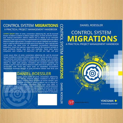 Control System Migration ebook cover needed for a large multi-national corporation