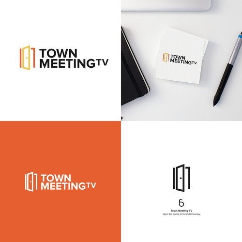 Logo design for Town Meeting TV