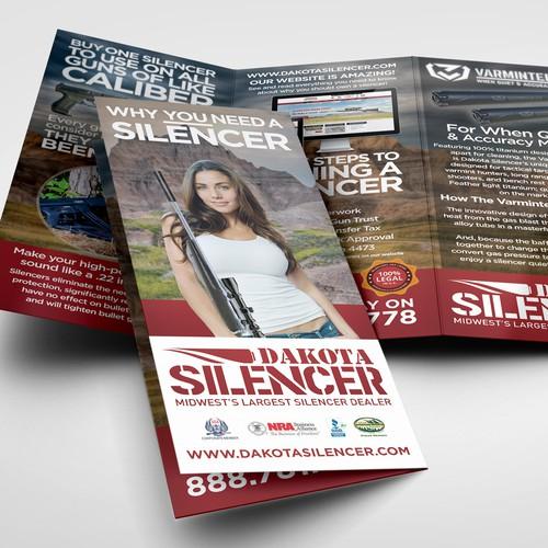 Dakota Silencer  Brochure Design
