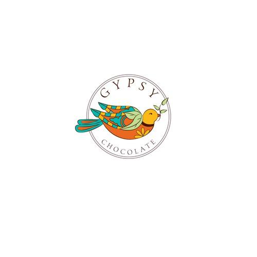 Boho style logo