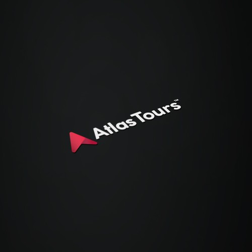 Simple Logo concept for the brand Atlas Tours