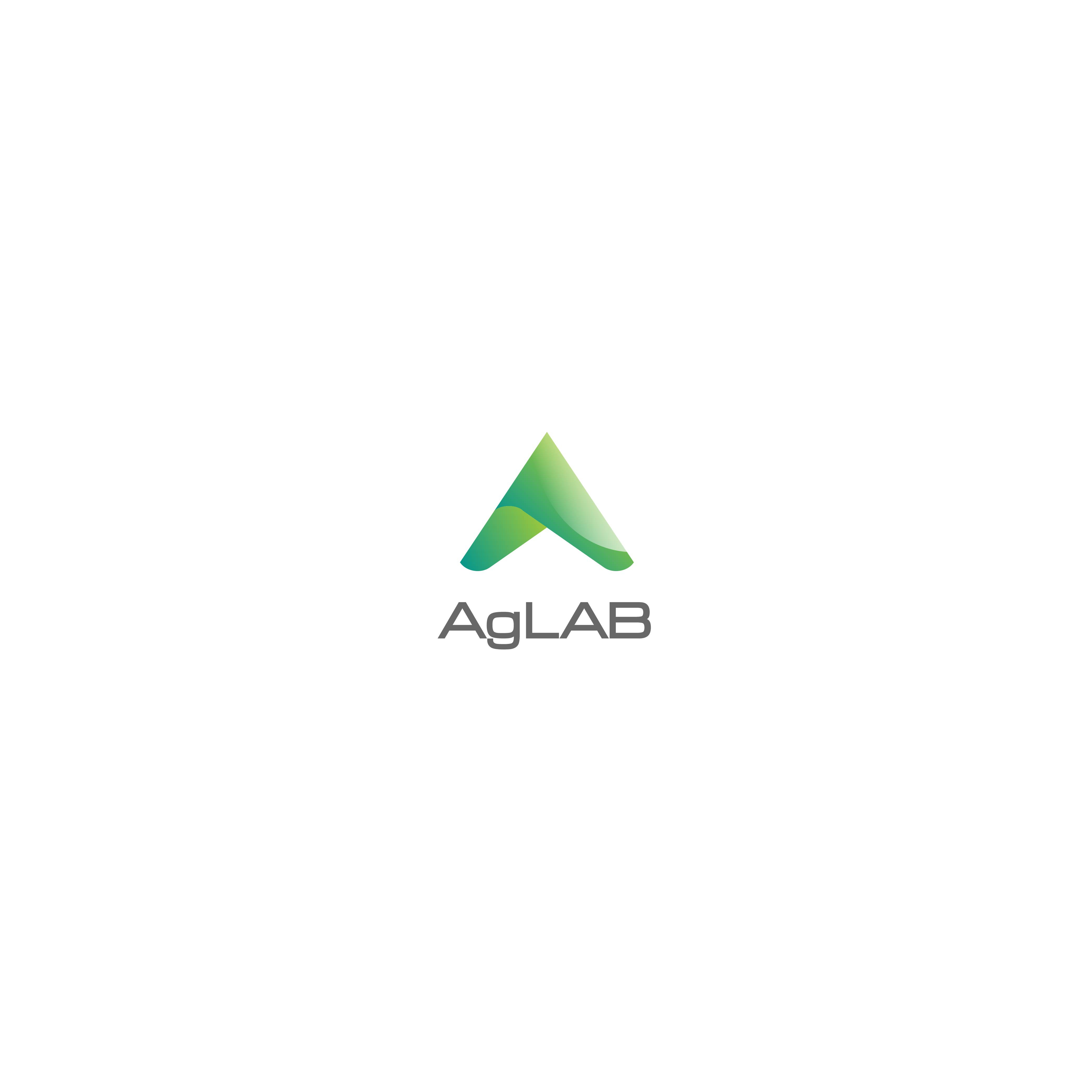 """Logo for """"AgLAB"""" agriculture field instrument for cannabis and hemp"""