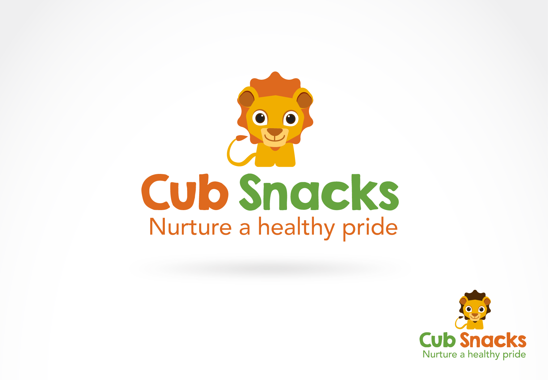 Create a fun, healthy and cute logo for a kid oriented food product