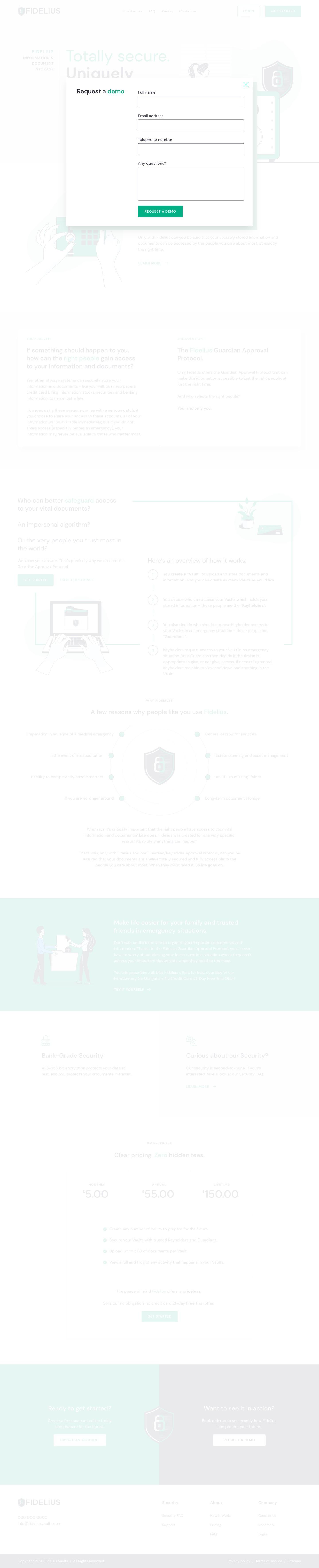 Fidelius Information & Document Storage