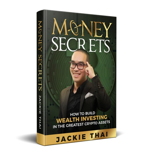 Bold book cover on wealth investment