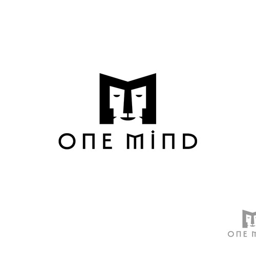 "The biggest challenge of all.  I need a logo design that describes ""one mind"" without a brain our a"