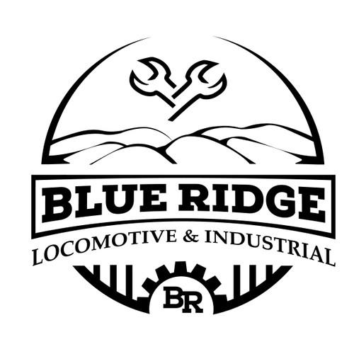 Classic logo for Locomotive Maintenance Co