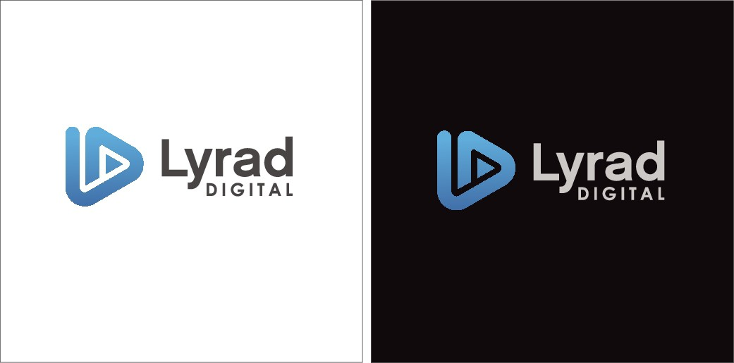 Design a cool logo for Lyrad Digital's website, YouTube channel and Twitter account!!!