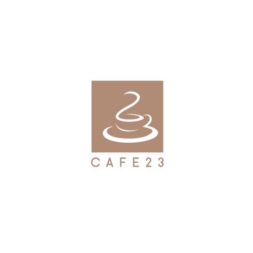 Logo design for Cafe23
