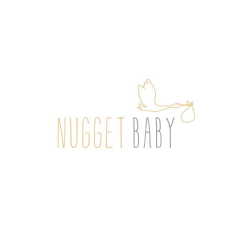 fresh, modern, smart baby fashion logo