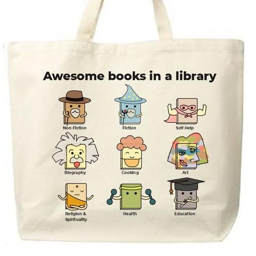 Reusable Bag Design for Librarians