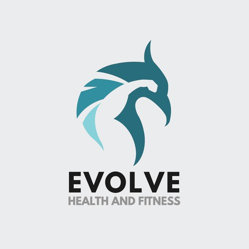 Logo concept for Evolve Health and Fitness