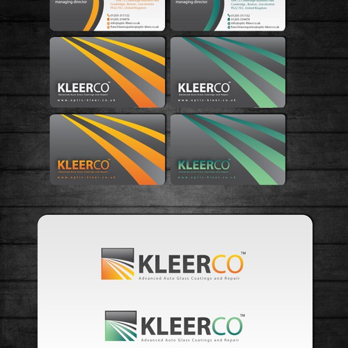 Help KLEERCO WINDSHIELD PLUS with a new print design