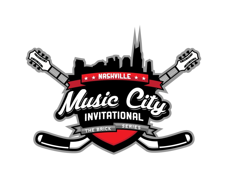 logo for the Music City Invitational hockey tournament
