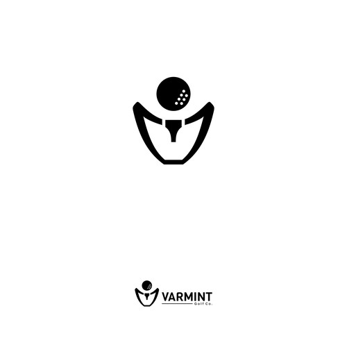 abstract logo for varmint