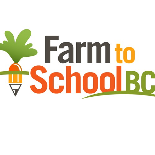 Create a Fun, Whimsical Logo for Farm to School BC