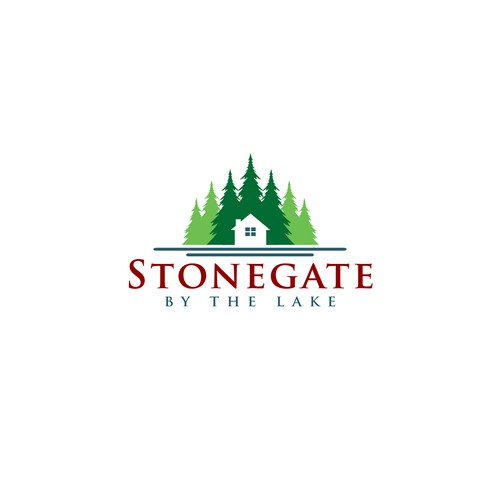 My Logo for Stonegate By The Lake.