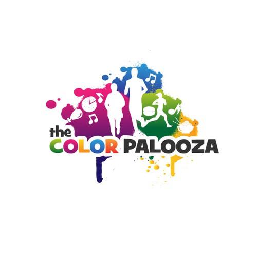 """The Color Palooza"" needs a new logo"