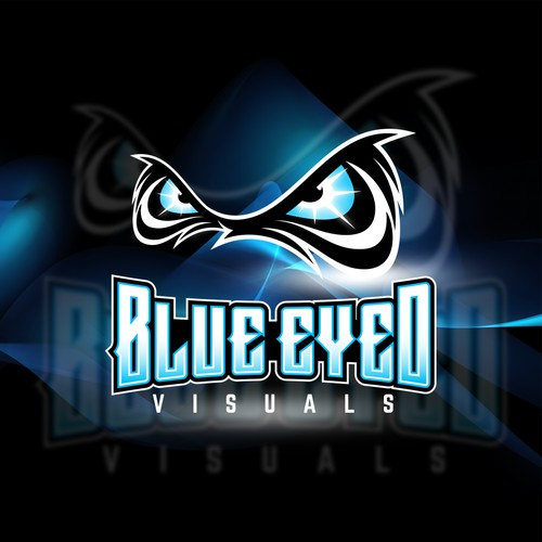Blue Eyed Visuals Logo concept