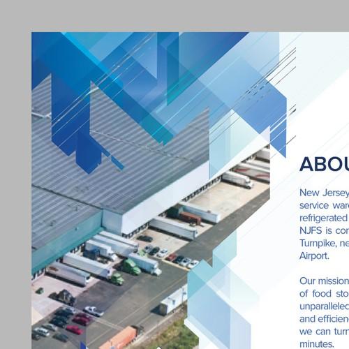 Marketing Flyer for New Jersey Frozen Storage and Long Island Frozen Storage