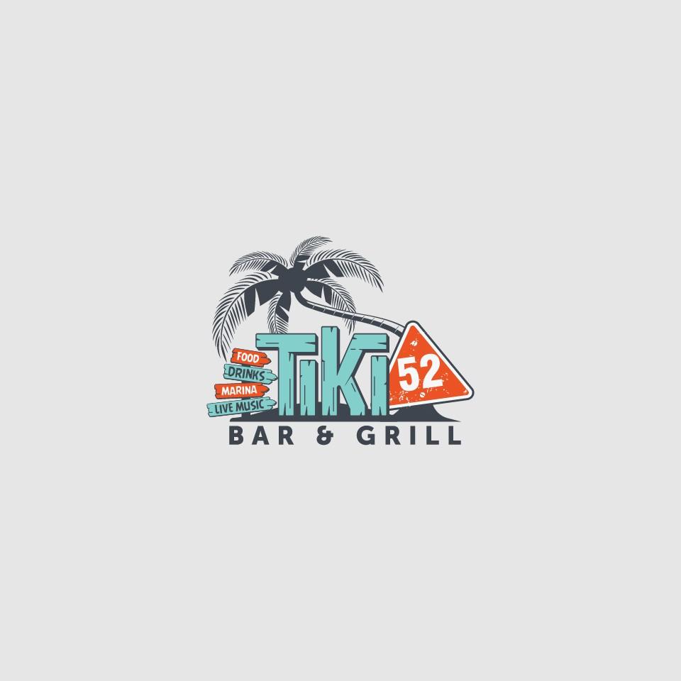 "Florida Tiki ""Island"" Bar & Restaurant Logo"