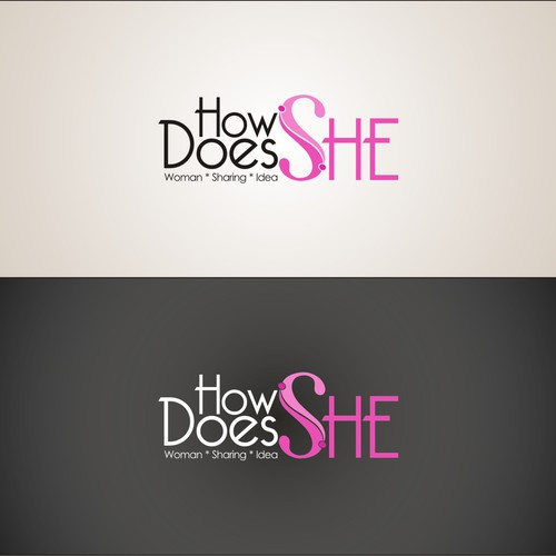 Find the mark to help answer the question 'How Does She?'