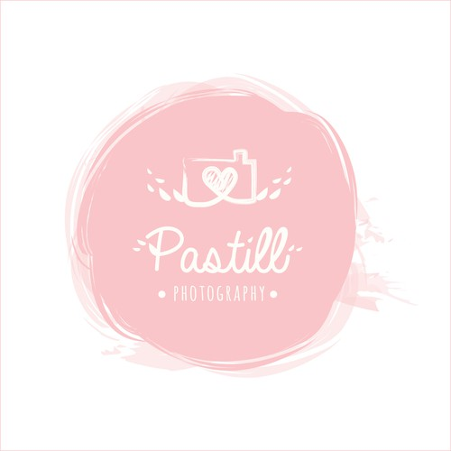 Paint Logo concept for Pastill Photography