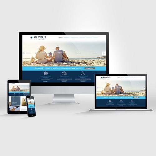 Desing Website Globus