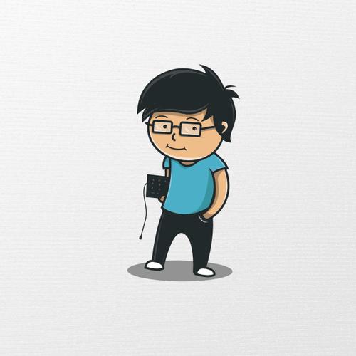 Illustrazione coordinata per Mastercoder, scuola di coding per 7-17.