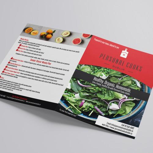 Fresh BiFold Brochure Design