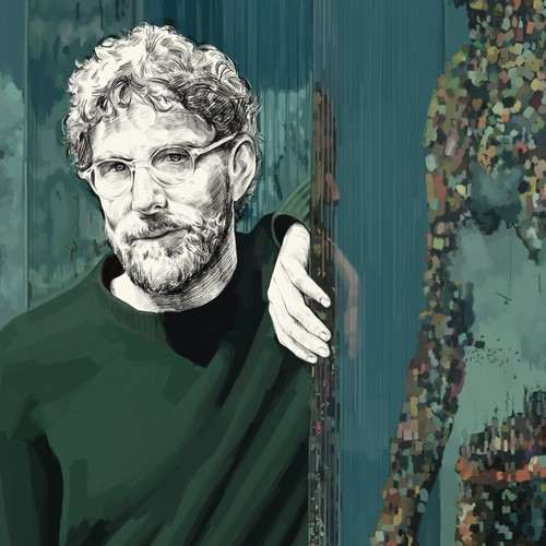 Dustin Yellin Portrait