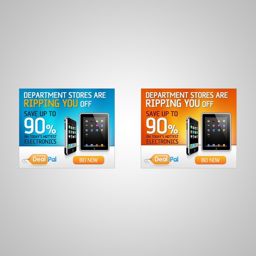 Create the next banner ad for Deal Pal