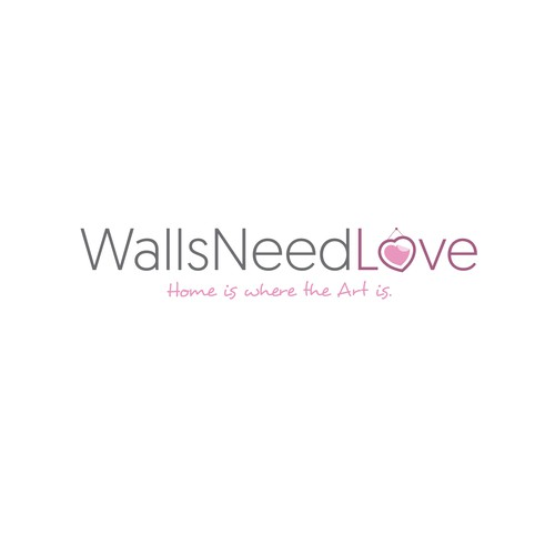 New logo design for an online wall art retailer