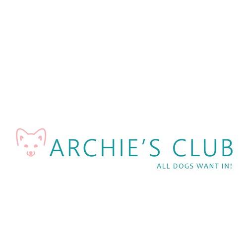 Clean Logo for dog boutique