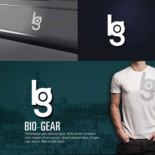 BG (BioGear) icon design