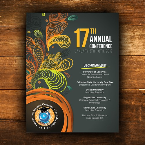 Annual conference poster
