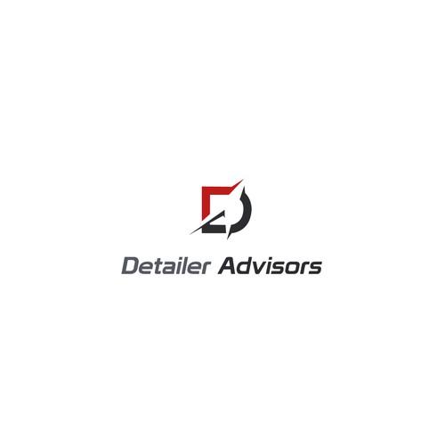 Detailer Advisors logo concept